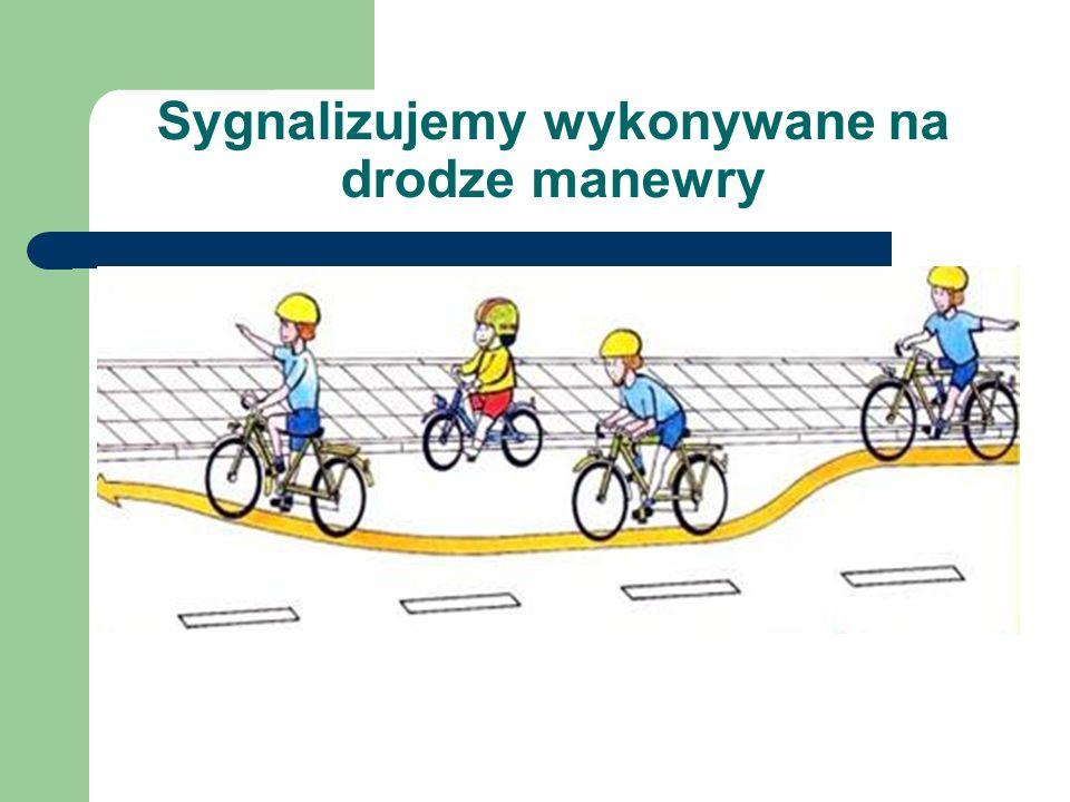 Sygnalizujemy wykonywane na drodze manewry
