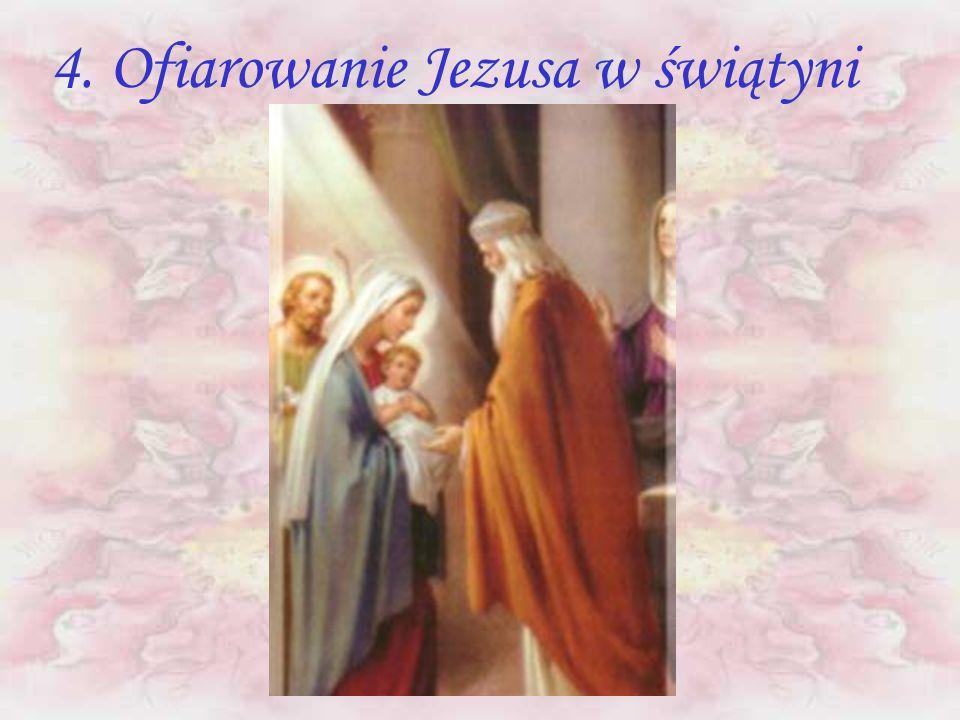 4. Ofiarowanie Jezusa w świątyni