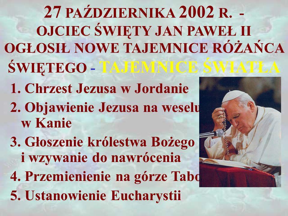 27 PAŹDZIERNIKA 2002 R.