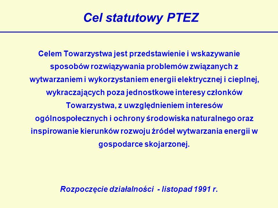Członkowie PTEZ 1.EC Będzin 2.EC Białystok 3.ZEC Bydgoszcz 4.ZEC Bytom 6.Energobaltic 7.EC Elbląg 8.EC Gorzów 9.EC Kalisz 10.PKE - EC Katowice 11.PKE - EC Bielsko B.