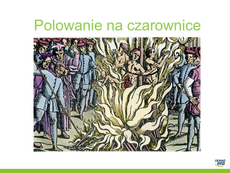 Gorączka polowań Zjawisko zwane polowaniem na czarownice to zbiorowe szaleństwo, które doprowadziło do egzekucji tysięcy osób, przede wszystkim kobiet, obwinianych o uprawianie czarów.