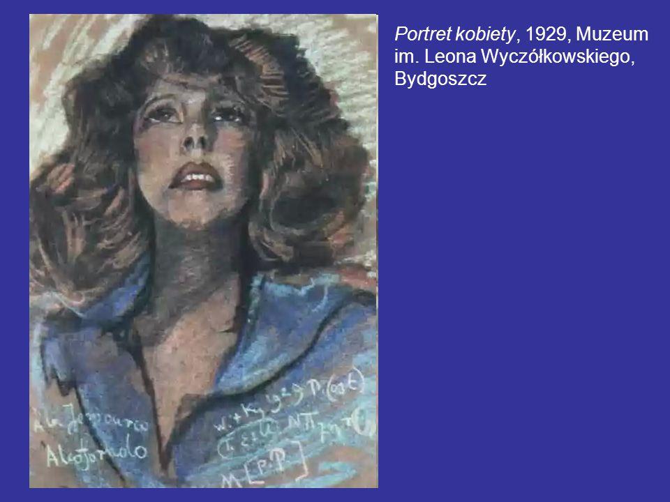 Portret kobiety, 1929, Muzeum im. Leona Wyczółkowskiego, Bydgoszcz