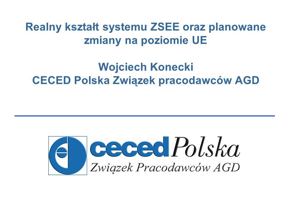 Copyrights by CECED Polska Podstawa prawna UE: Dyrektywa 2002/96/WE ws.