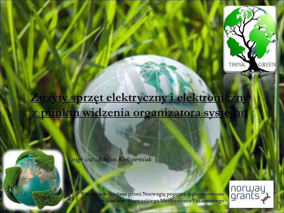 Zużyty Sprzęt Elektryczny i Elektroniczny /ZSEE/ Odpad w rozumieniu ustawy z dnia 27 kwietnia 2001 roku o odpadach /Dz.