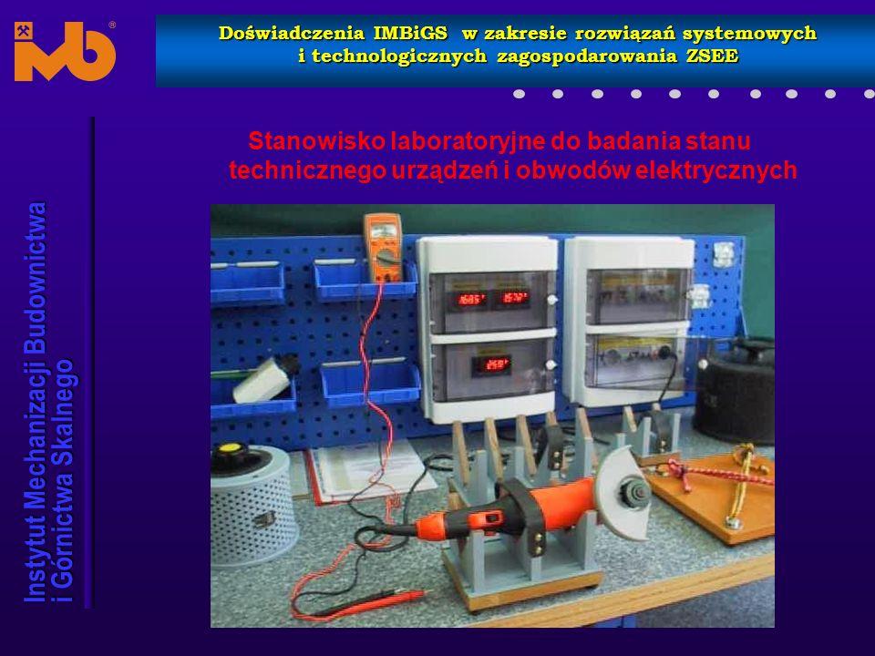 Instytut Mechanizacji Budownictwa i Górnictwa Skalnego Doświadczenia IMBiGS w zakresie rozwiązań systemowych i technologicznych zagospodarowania ZSEE