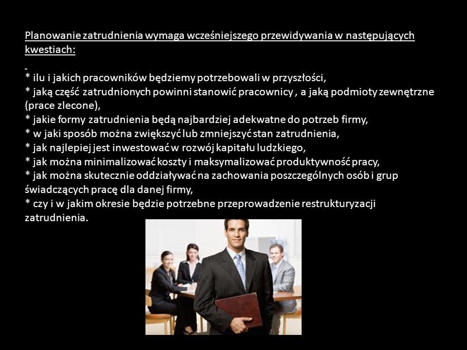 Uproszczony schemat analizy pracy: * Co pracownik robi.