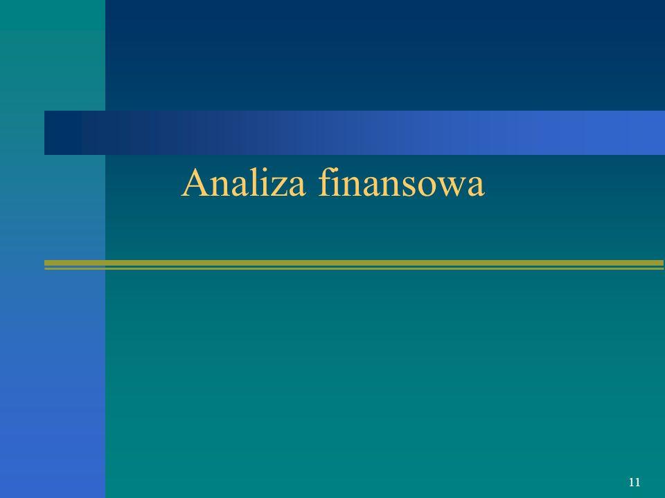 11 Analiza finansowa
