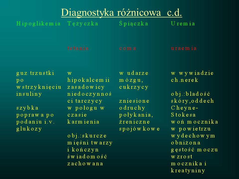 Diagnostyka różnicowa c.d.