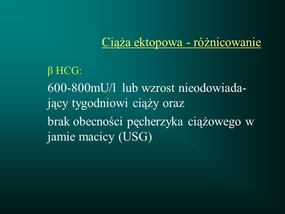 Wstrząs oligowolemiczny Etiologia: 1.atonia macicy 2.