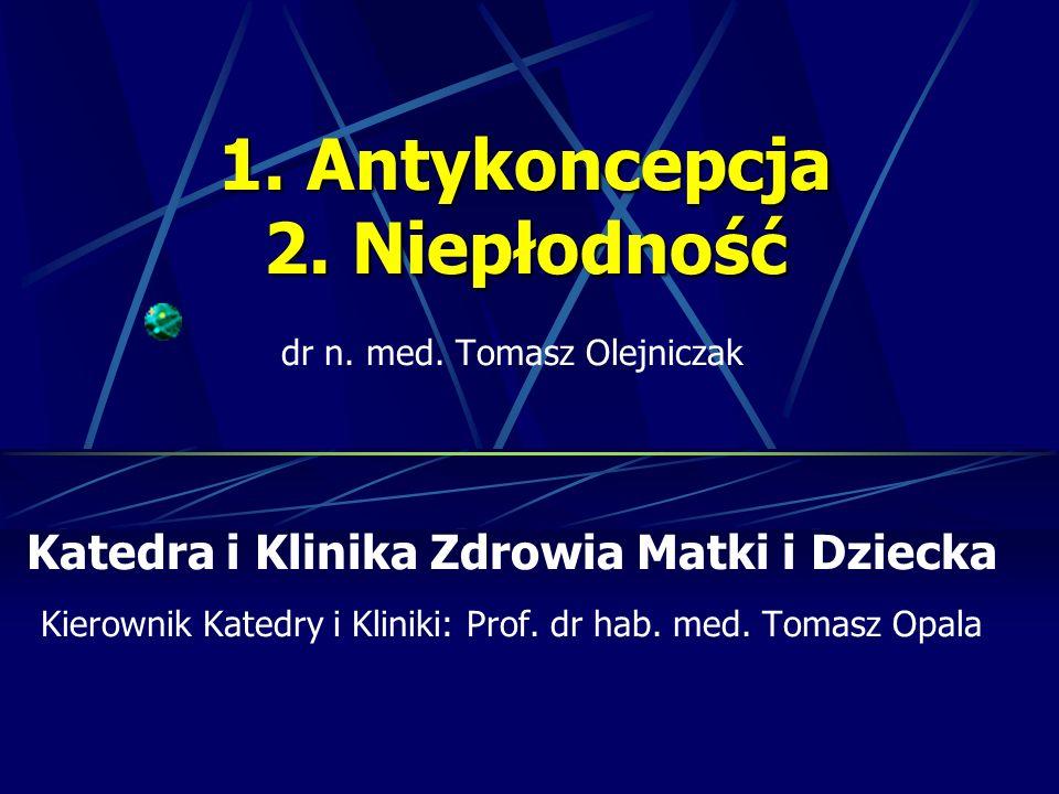Leczenie farmakologiczne - Antyestrogeny – cytrynian klomifenu, tamoksyfen, - Gonadotropiny (ludzka menopauzalna hMG, kosmówkowa hCG, rekombinowane rFSH i rLH) - Analogi gonadoliberyny GnRH (agoniści i antagoniści) - Hormony steroidowe (estrogeny, progestageny, kortykosteroidy) - Inne (bromokryptyna, metformina)