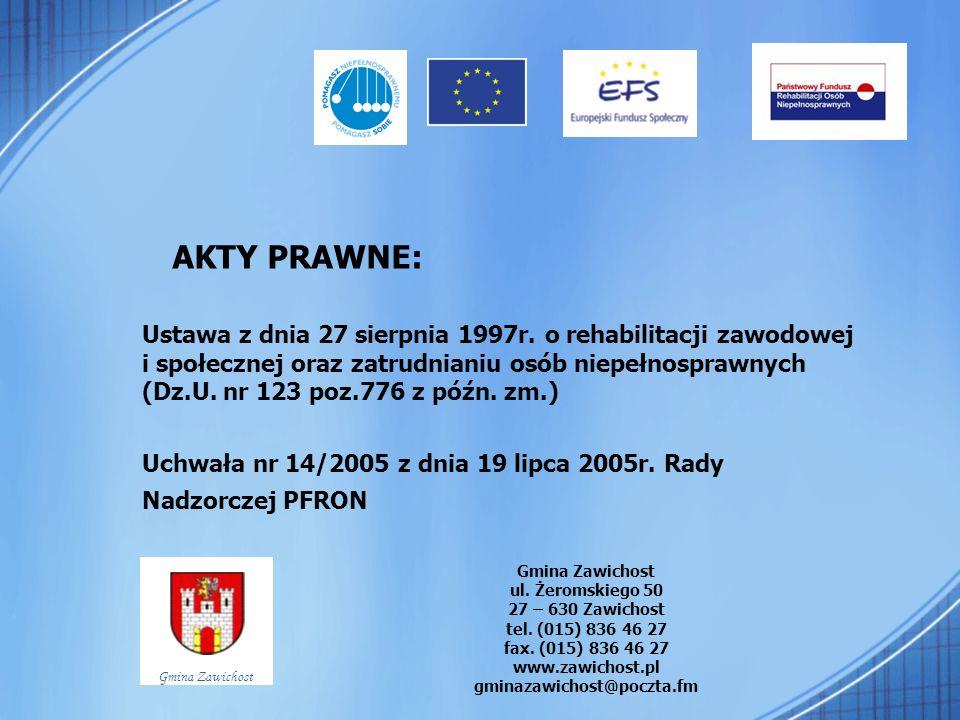 Adresaci programu: Jednostki organizacyjne instytucji, które wykonują zadania z zakresu administracji publicznej oraz jednostki samorządu terytorialnego.
