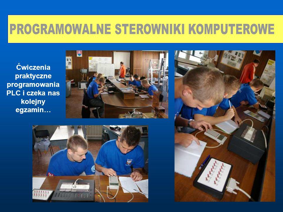 Ćwiczenia praktyczne programowania PLC i czeka nas kolejny egzamin…