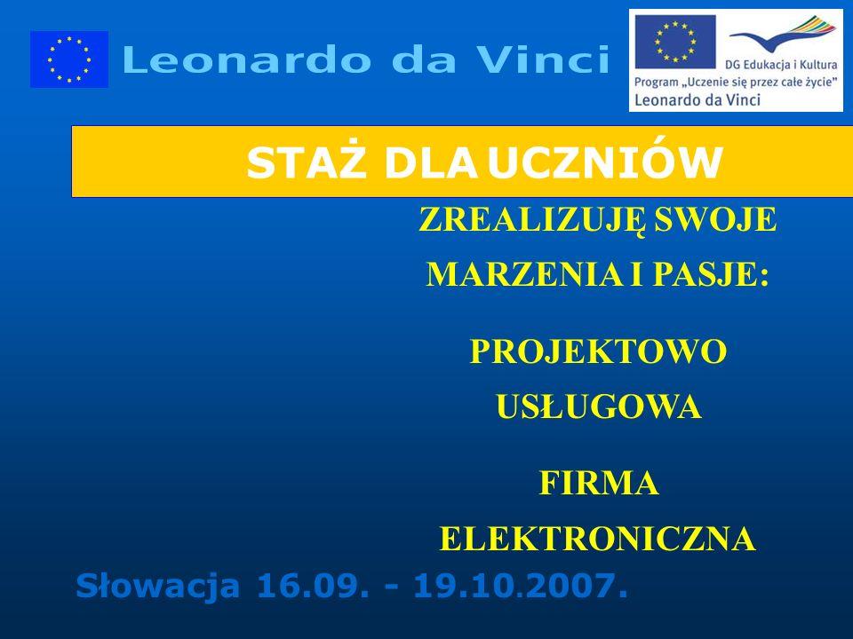 Słowacja 16.09. - 19.10. 2007.