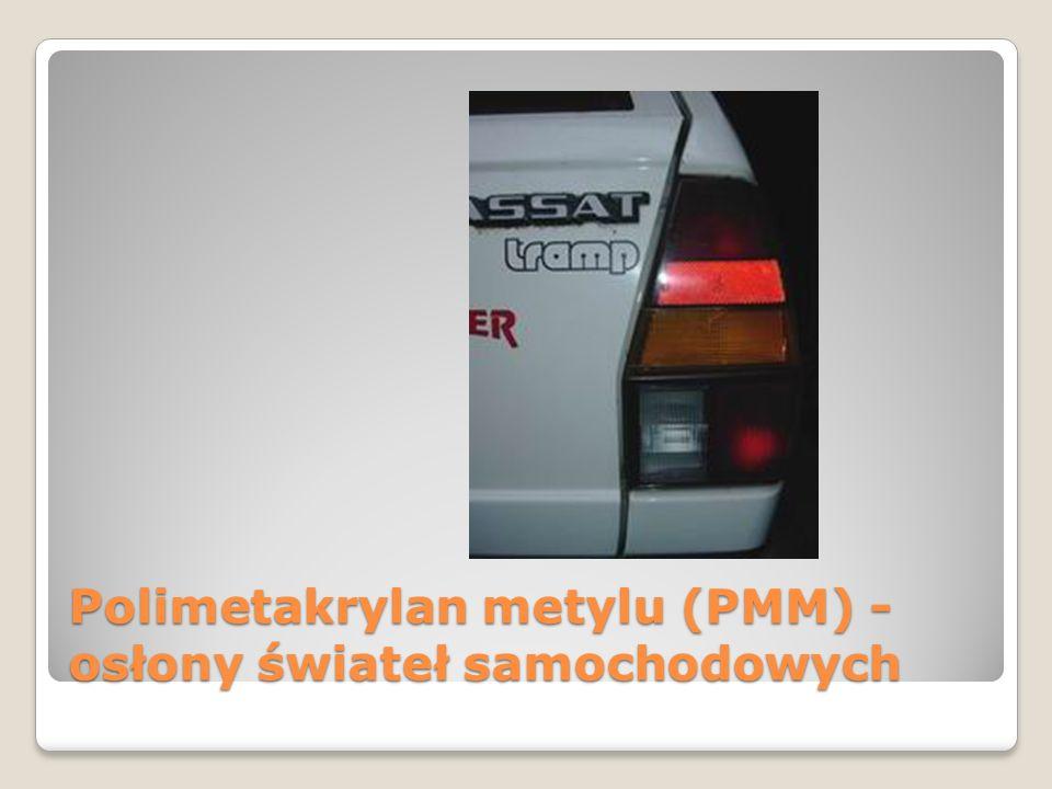 Polimetakrylan metylu (PMM) - osłony świateł samochodowych