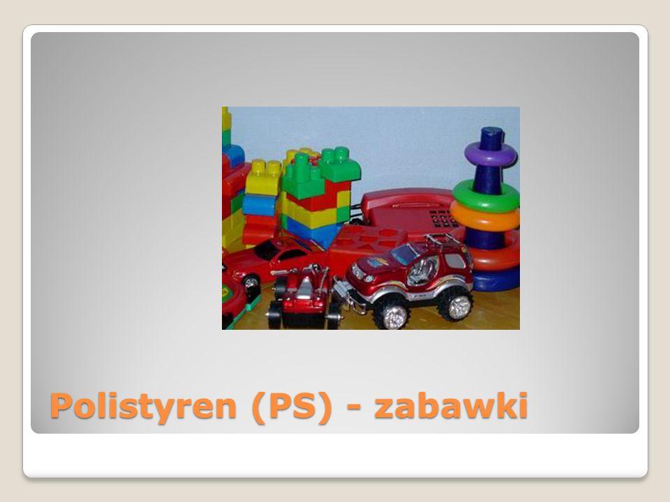 Polistyren (PS) - zabawki