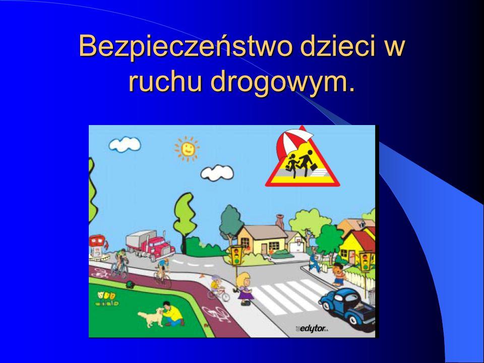 Bezpieczeństwo dzieci w ruchu drogowym.