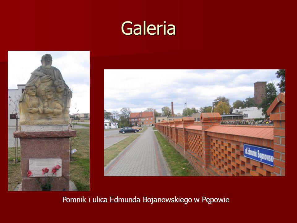 Galeria Pomnik i ulica Edmunda Bojanowskiego w Pępowie