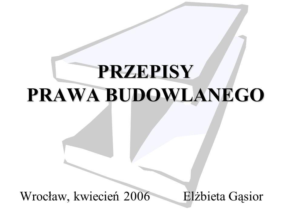 2 Pojęcia i unormowania w procesie inwestycyjnym i budowlanym.