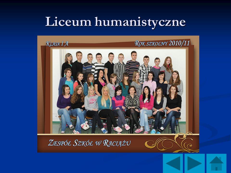 Liceum humanistyczne
