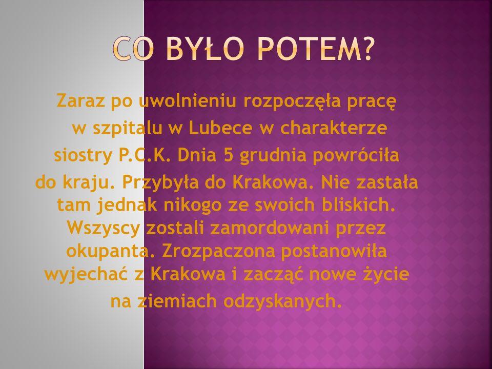 Od tego czasu szkoła w Węglińcu może się szczycić, że ma Patrona, o którego obcy przyjezdni pytają: A kim była ta Maria Krasicka.