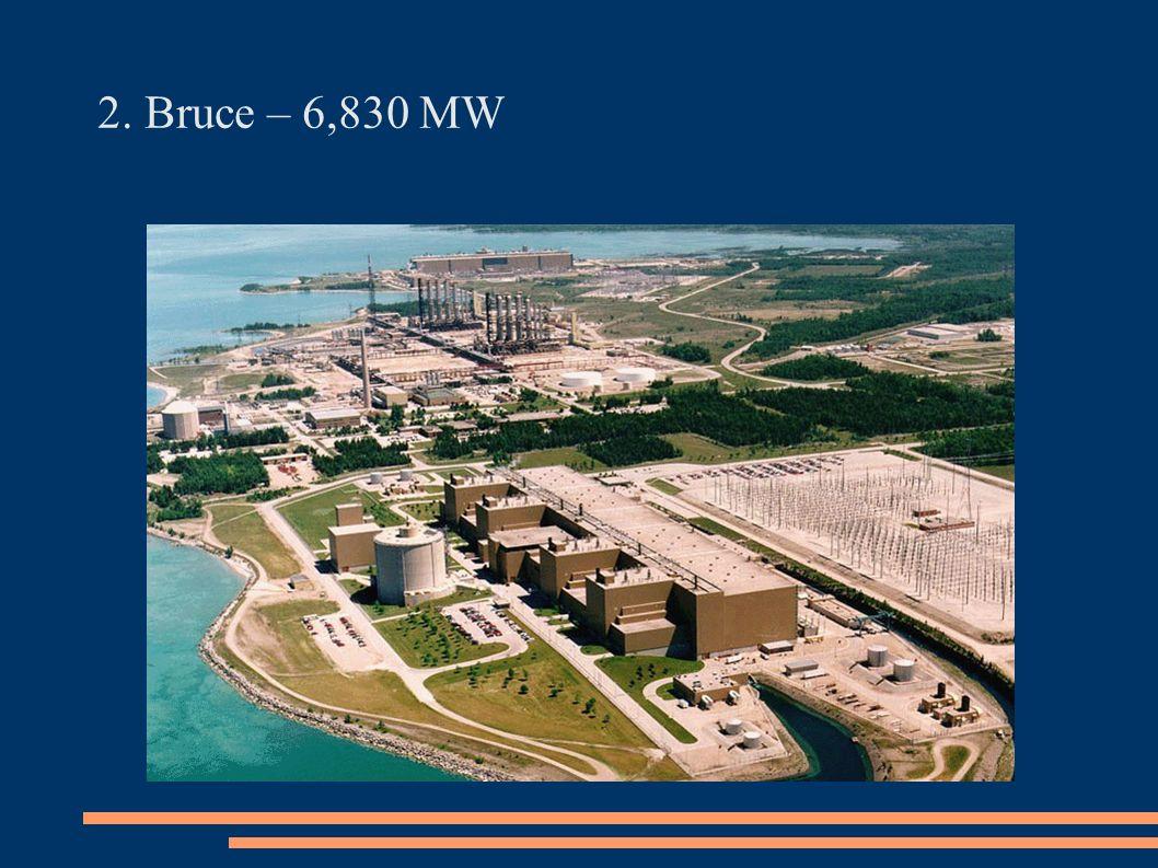 2. Bruce – 6,830 MW