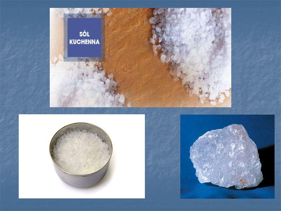 Pospolita sól kuchenna składa się z dwóch pierwiastków - z sodu i chloru.