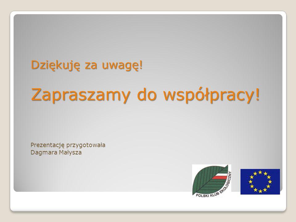 Dziękuję za uwagę! Zapraszamy do współpracy! Prezentację przygotowała Dagmara Małysza