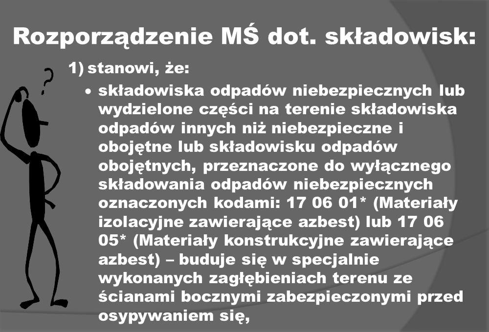 Rozporządzenie MŚ dot.