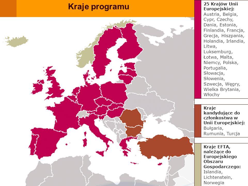 Kraje EFTA, należące do Europejskiego Obszaru Gospodarczego: Islandia, Lichtenstein, Norwegia Kraje kandydujące do członkostwa w Unii Europejskiej: Bu