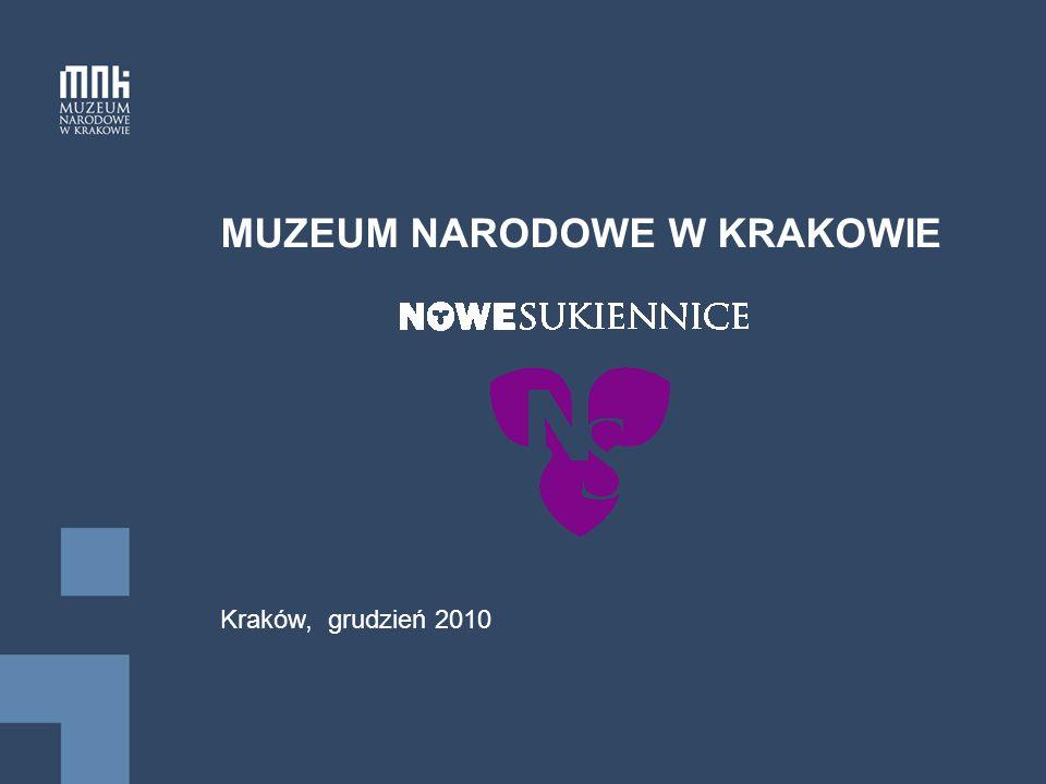 MUZEUM NARODOWE W KRAKOWIE Kraków, grudzień 2010