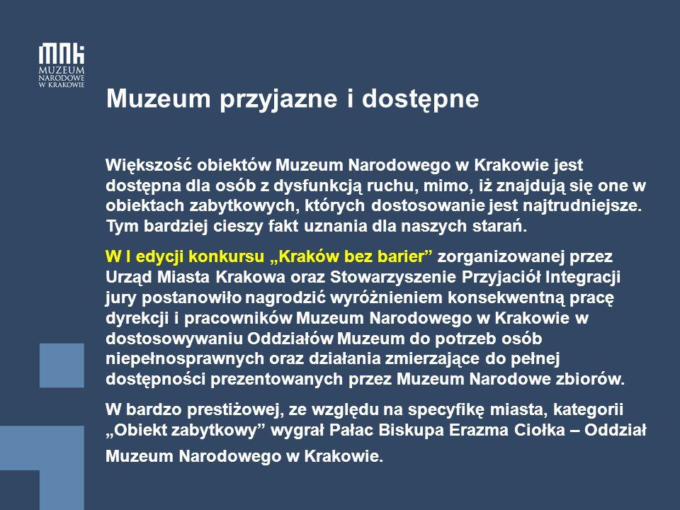 Muzeum przyjazne i dostępne Galeria Sztuki Polskiej XIX w.