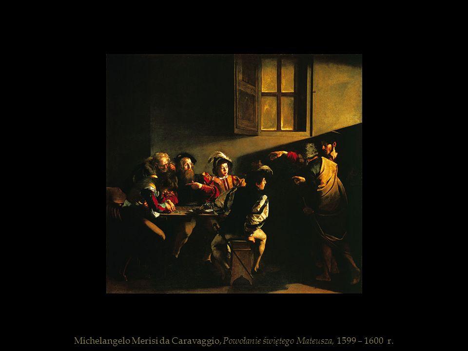 Michelangelo Merisi da Caravaggio, Powołanie świętego Mateusza, 1599 – 1600 r.