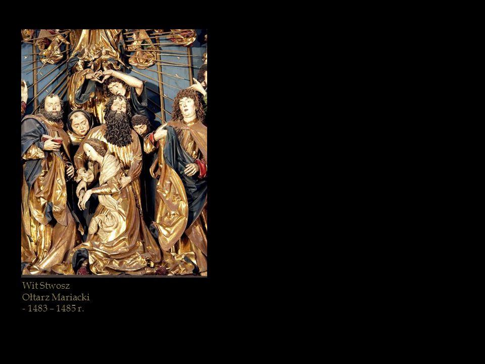 Ostatnia modlitwa Maryi z Bramy Szewskiej kościoła Mariackiego w Gdańsku - po 1400 r.