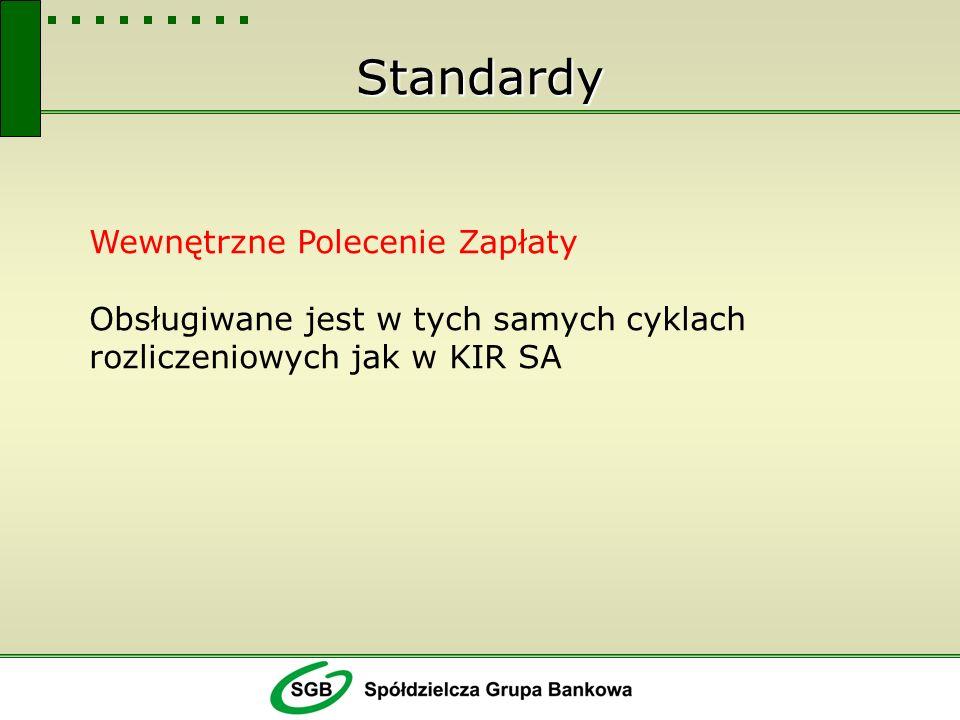 Efekty Rozwiązanie wpisuje się w kampanię upowszechnienia stosowania Polecenia Zapłaty Rozwiązanie wpisuje się w realizację strategii rozwoju obrotu bezgotówkowego w Polsce
