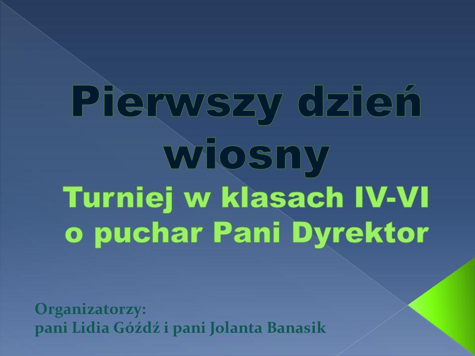 Organizatorzy: pani Lidia Góźdź i pani Jolanta Banasik