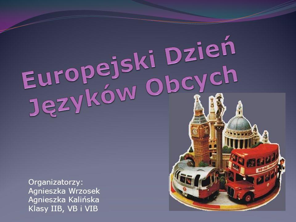 Organizatorzy: Agnieszka Wrzosek Agnieszka Kalińska Klasy IIB, VB i VIB