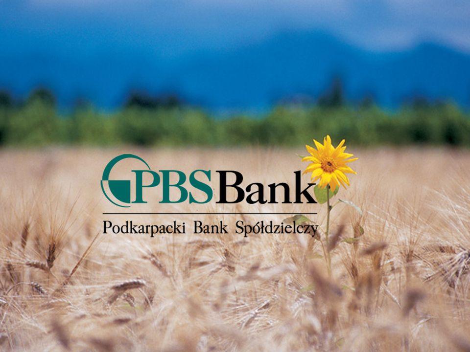 www.pbsbank.pl Podkarpacki Bank Spółdzielczy Tradycja i Nowoczesność Dziękuję za uwagę Motto Banku