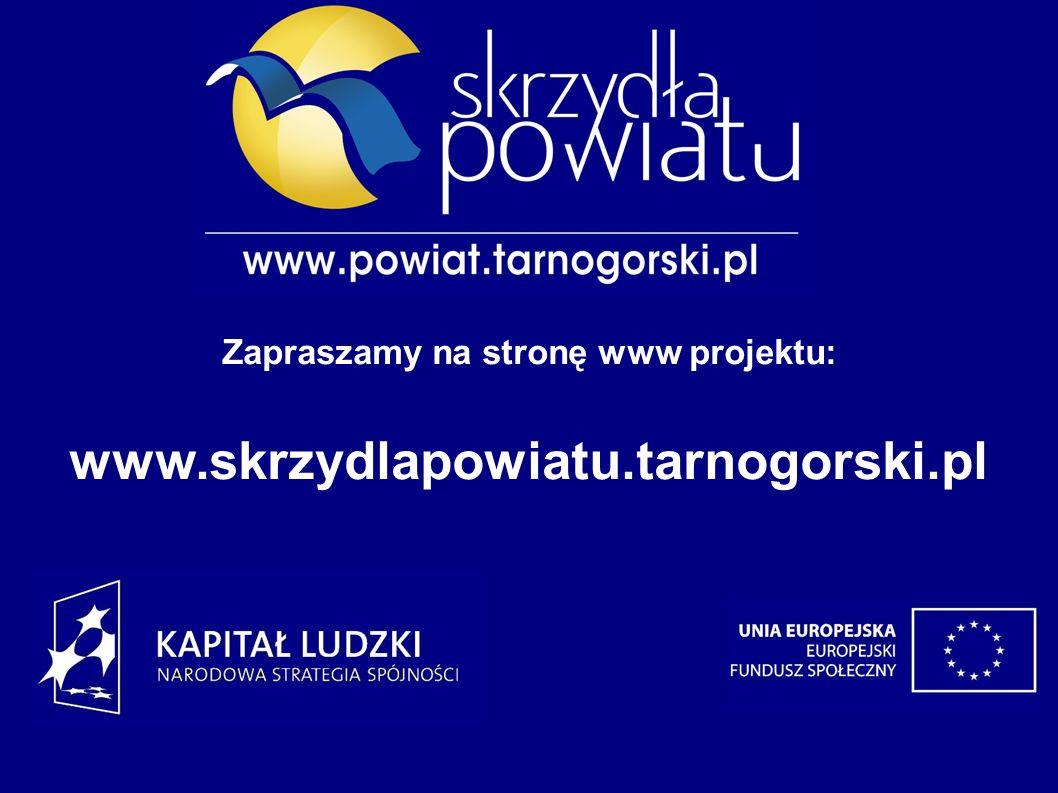 Zapraszamy na stronę www projektu: www.skrzydlapowiatu.tarnogorski.pl