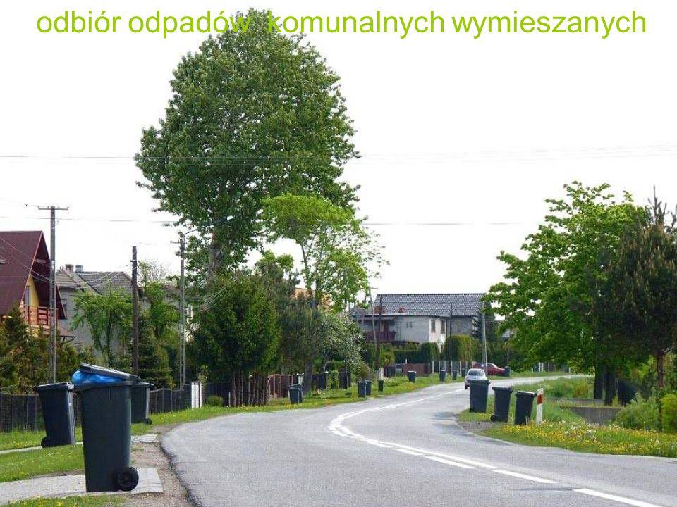 odbiór odpadów komunalnych wymieszanych