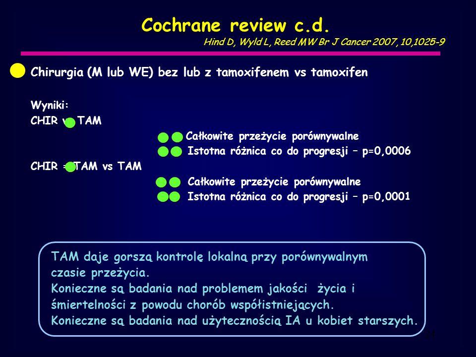 24 Cochrane review c.d.