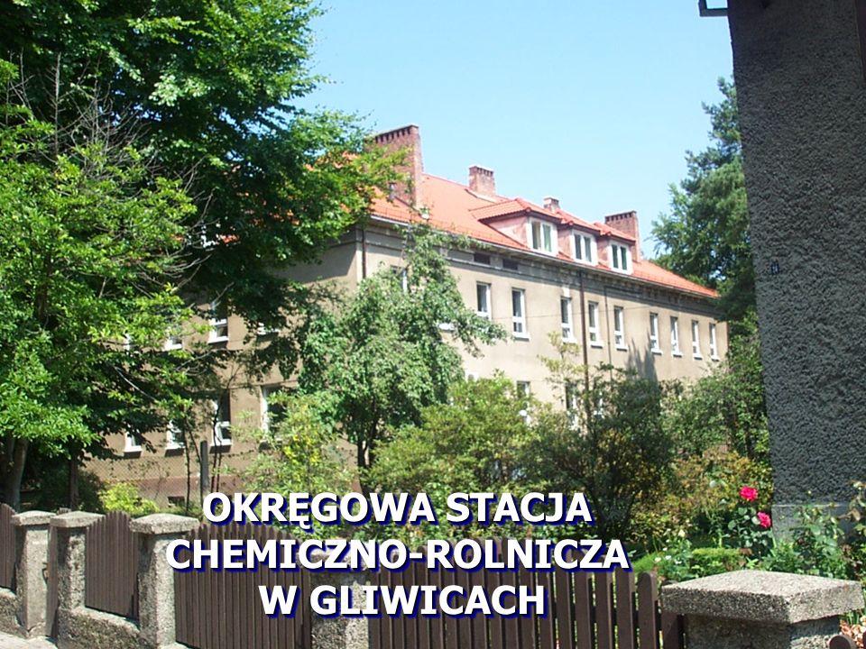 oraz na zlecenie rolników indywidualnych i innych podmiotów gospodarczych zajmujących się uprawą roli Okręgowa Stacja Chemiczno – Rolnicza w Gliwicach pobrała