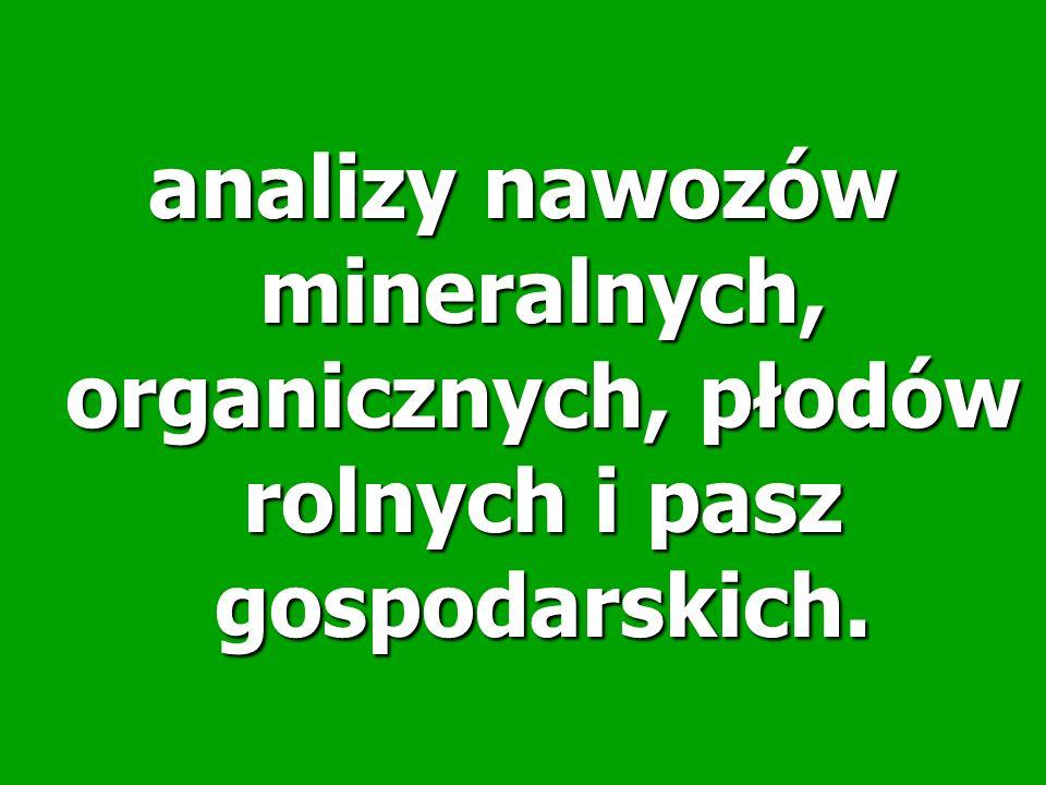 Zawartości makroskładników tj.