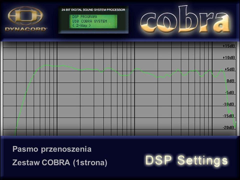 Pasmo przenoszenia Zestaw COBRA (1strona)