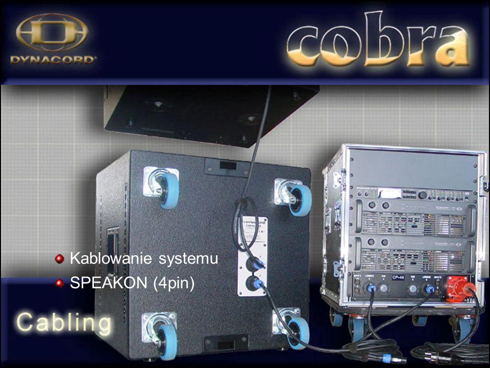Kablowanie systemu SPEAKON (4pin)