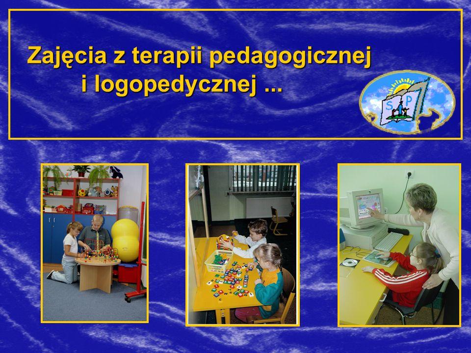 Zajęcia z terapii pedagogicznej i logopedycznej...