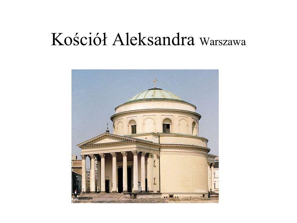 Kościół Aleksandra Warszawa