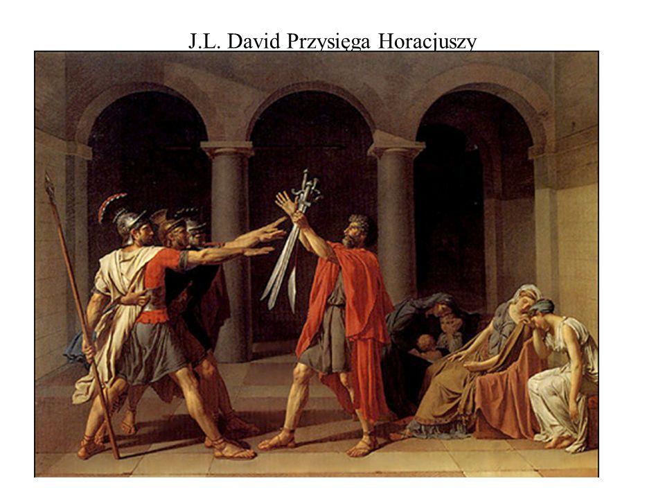 J.L. David Przysięga Horacjuszy