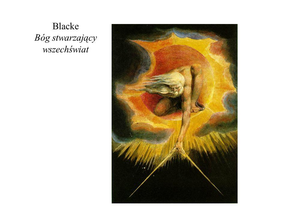 Blacke Bóg stwarzający wszechświat