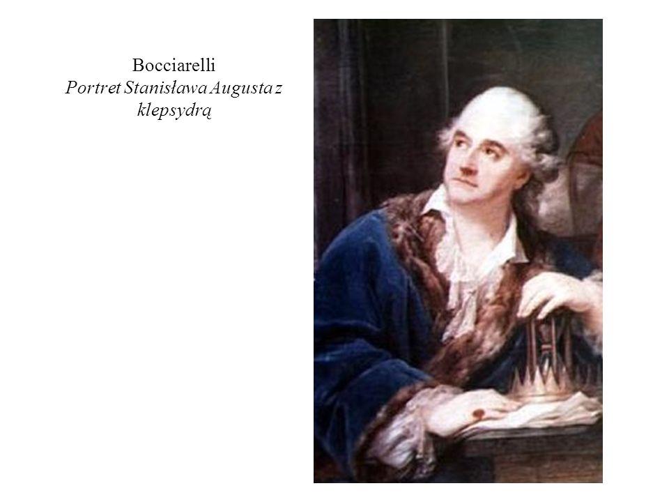 Bocciarelli Portret Stanisława Augusta z klepsydrą