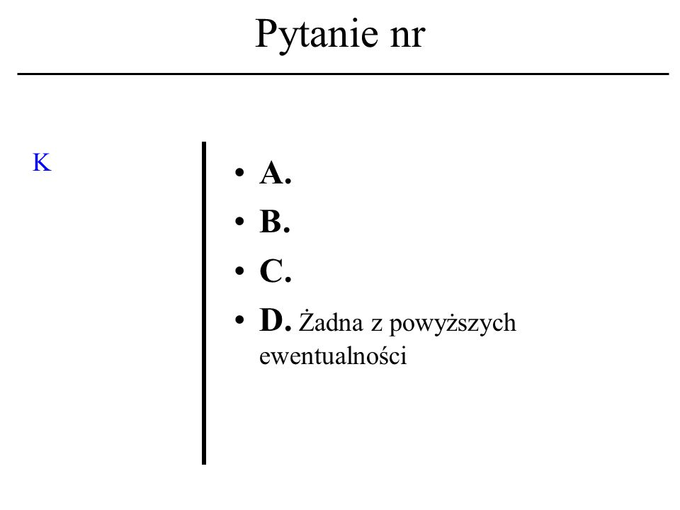 Pytanie nr Lista dyskusyjna A.To system zapisów w mechanizmie przydziału kont.
